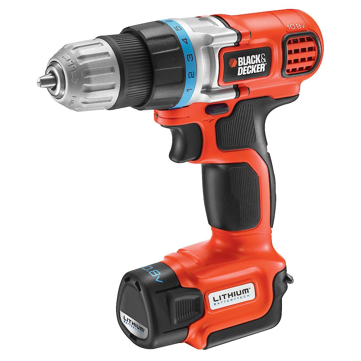 Black & Decker EGBL108KB drill