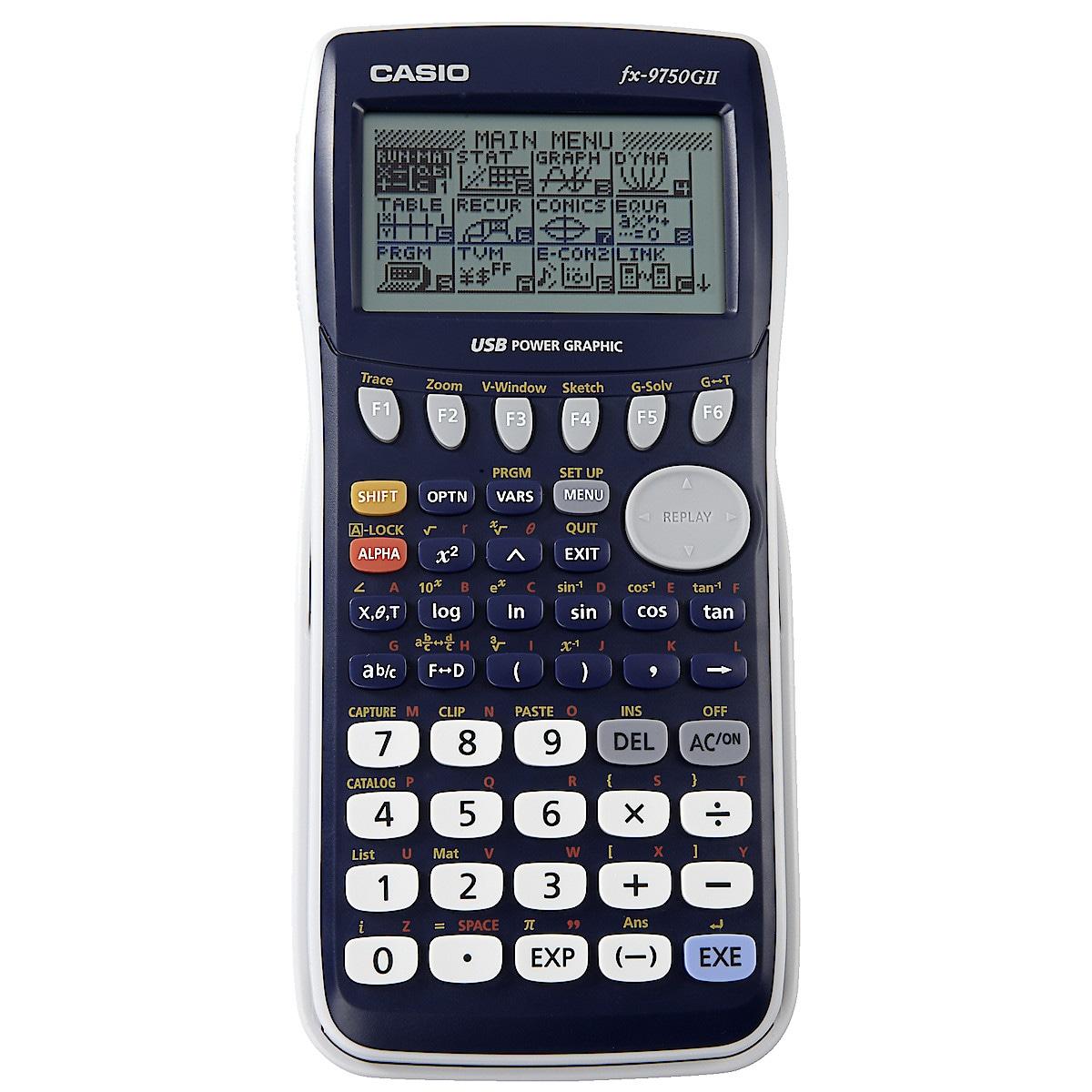 Casio FX-9750GII kalkulator