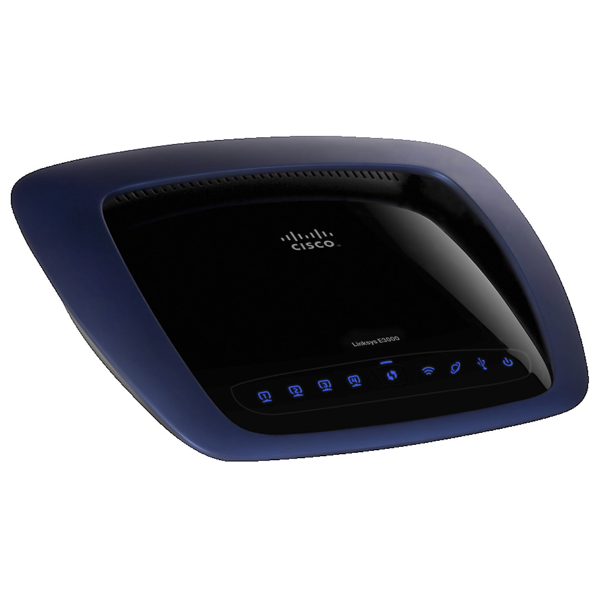 Trådlös router Linksys E3000 med dual band 300 Mbps