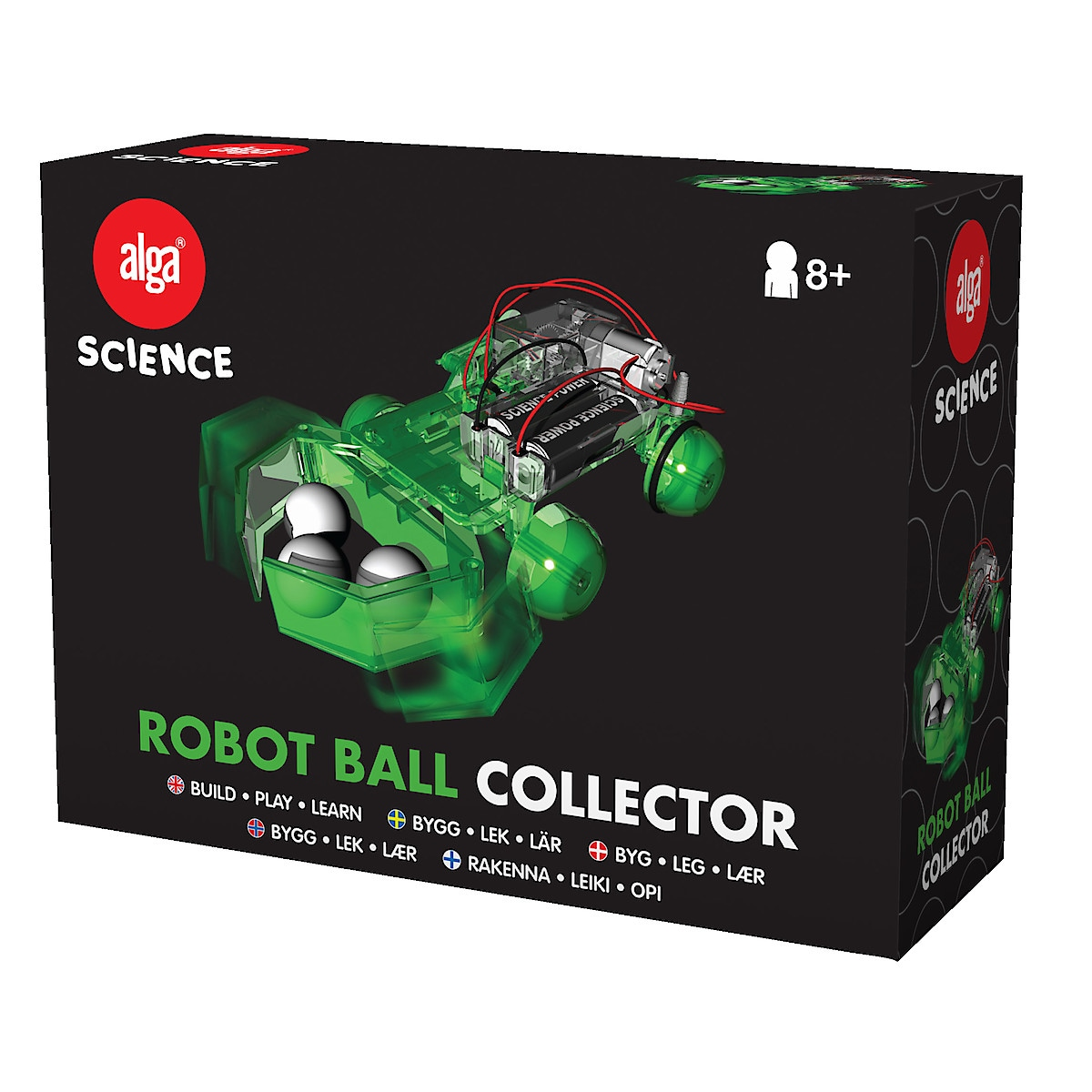 Alga Science Robot balloppsamler