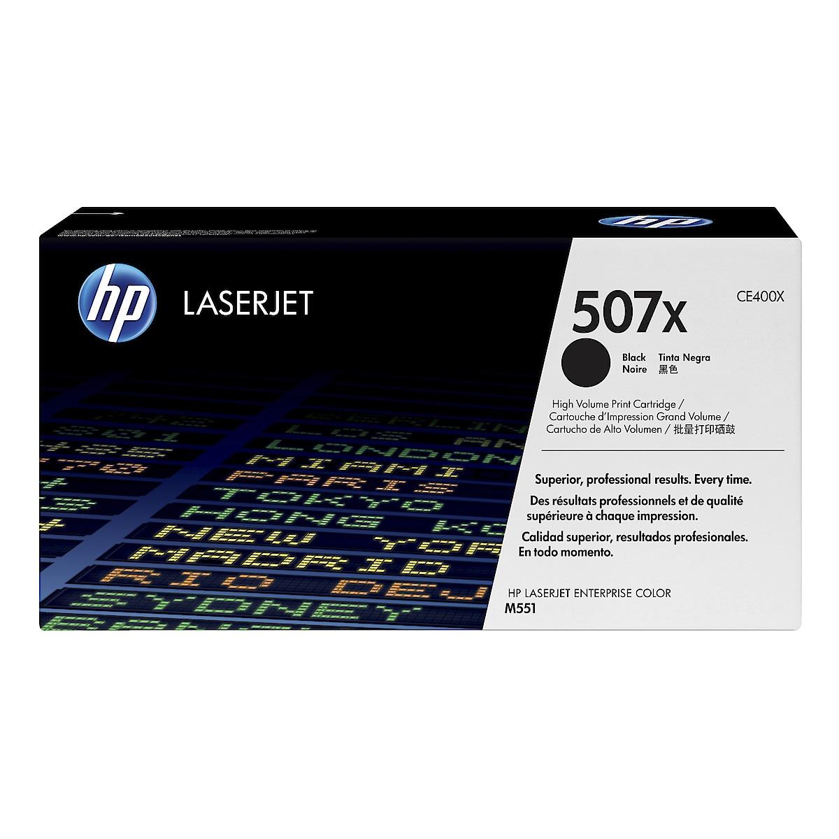 Toner för laserskrivare HP nr.507