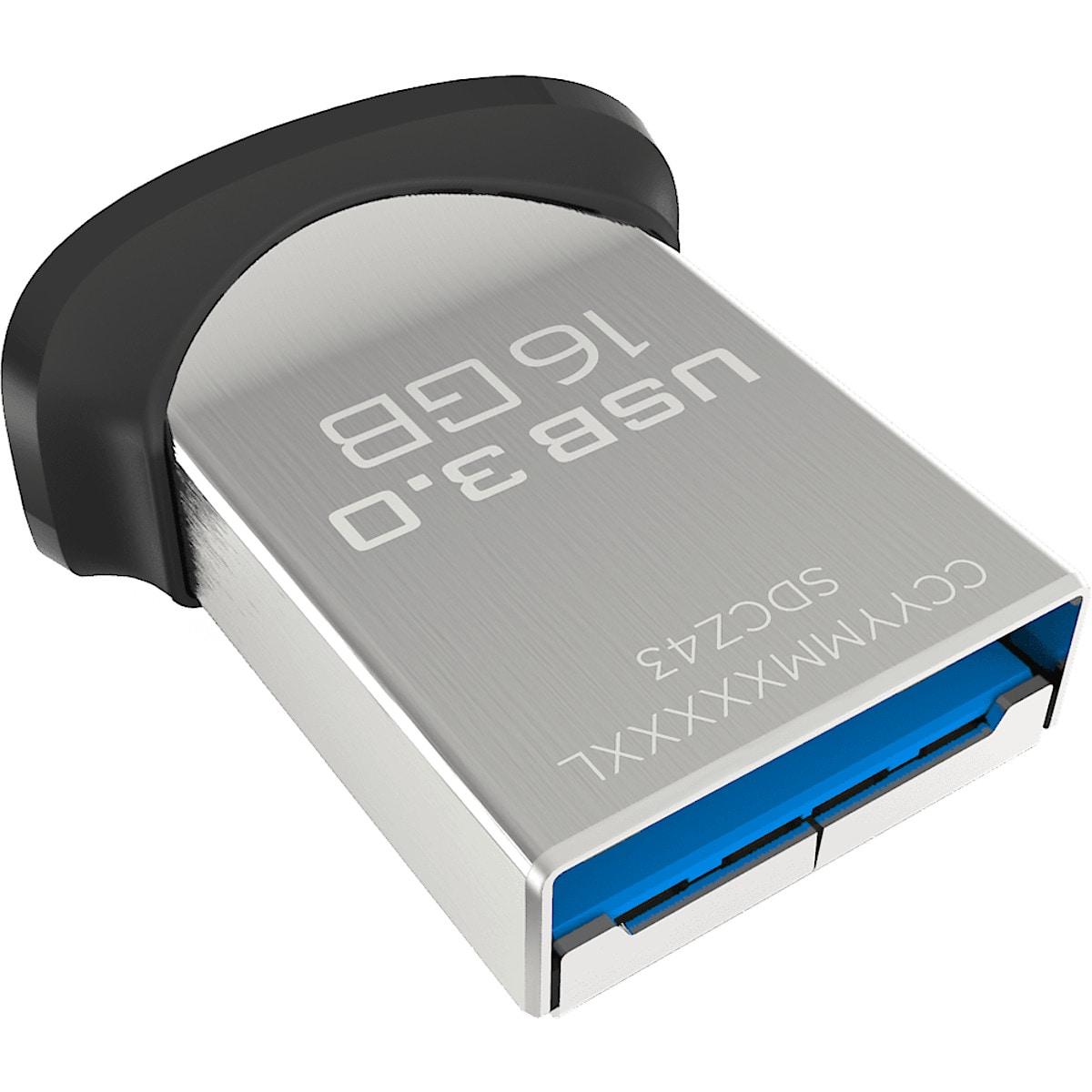USB-Speicher 16 GB Sandisk Ultra Fit