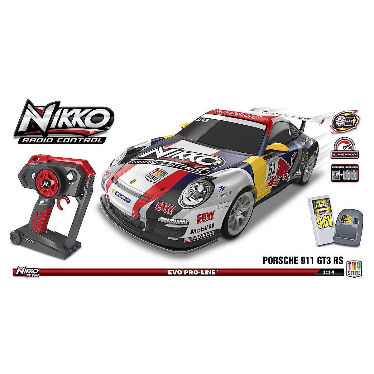 Nikko Street Car Porsche 911 radiostyrt bil