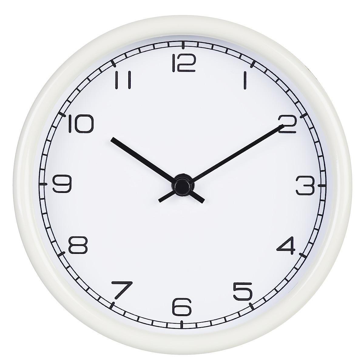Vägg-/bordsklocka Ø 15 cm