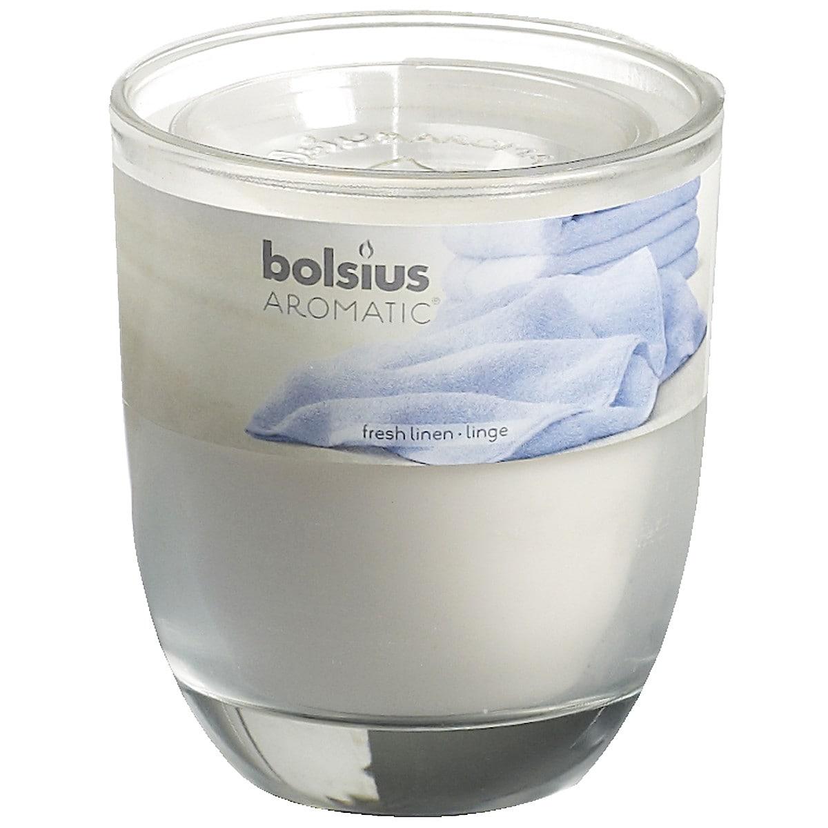 Bolsius duftlys i glass
