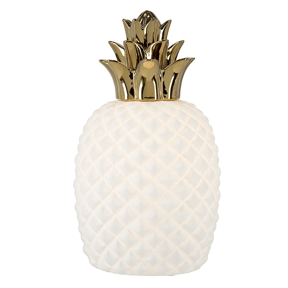Bordslampa Ananas i porslin, Northlight | Clas Ohlson