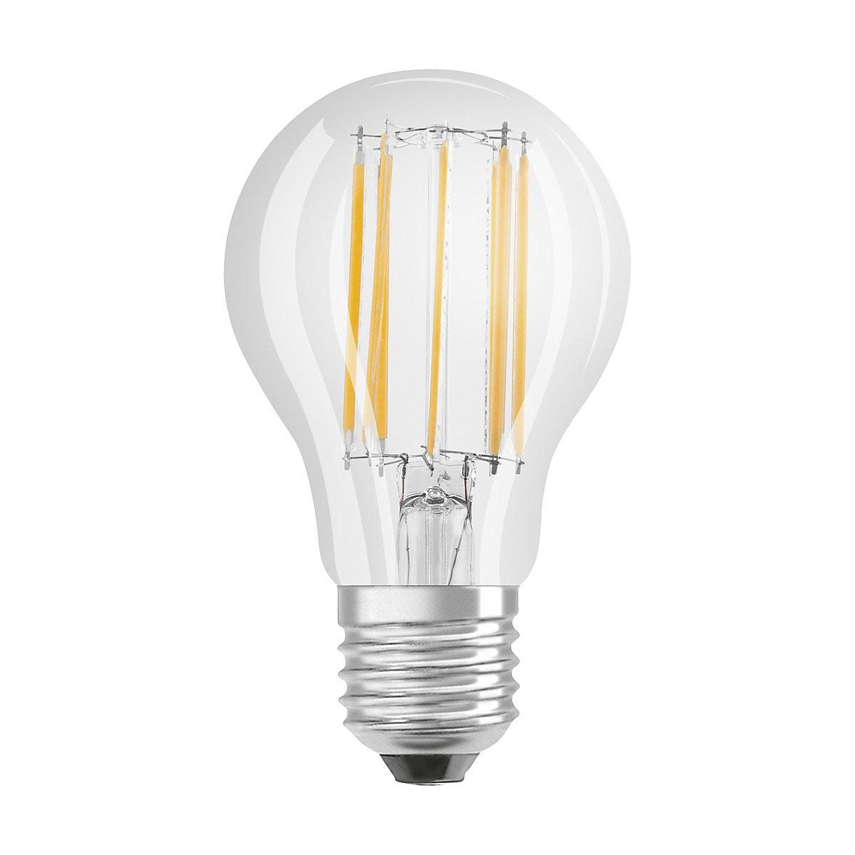 Normallampa LED Retrofit Classic kallvit E27 Osram
