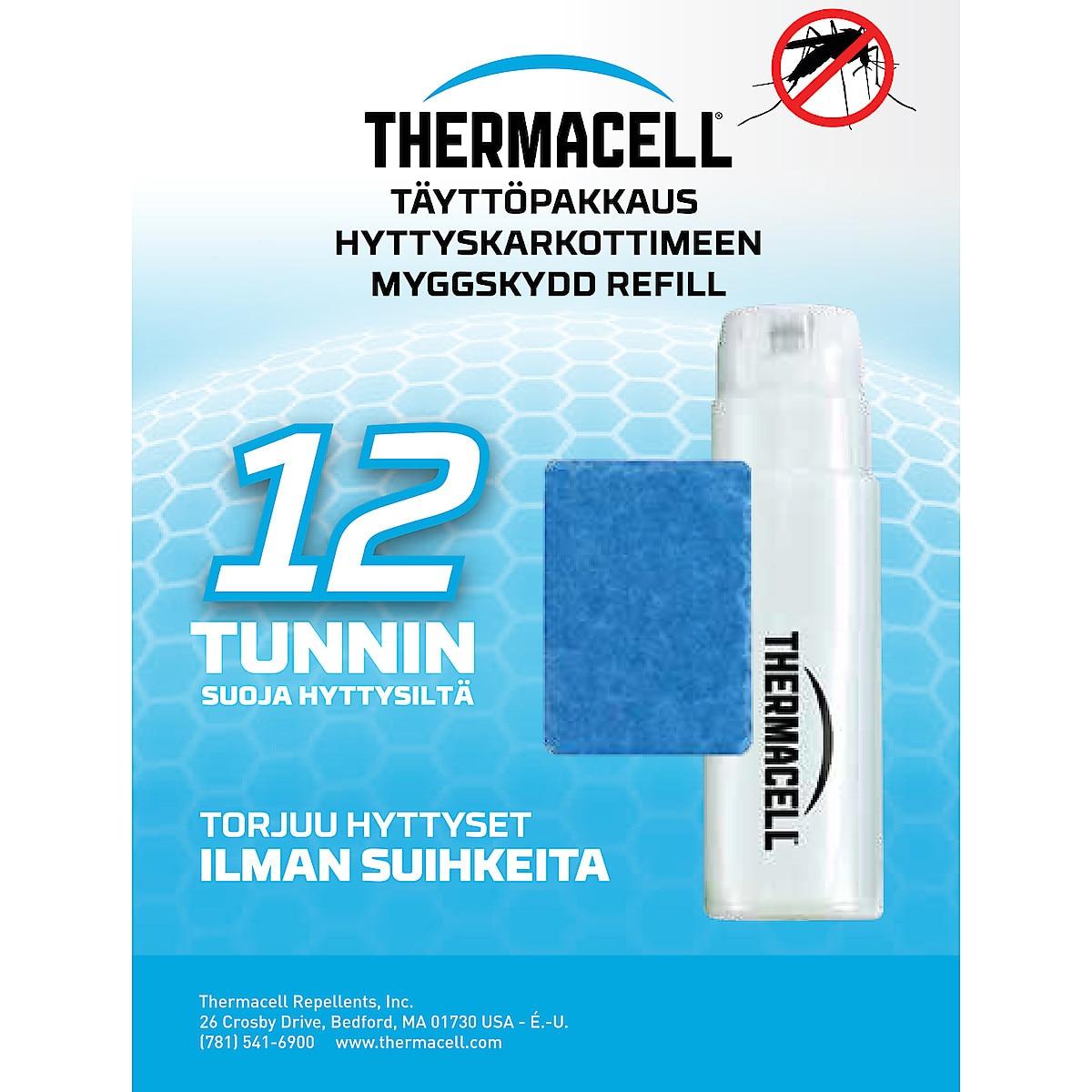 Täyttöpakkaus hyttyskarkottimeen Thermacell