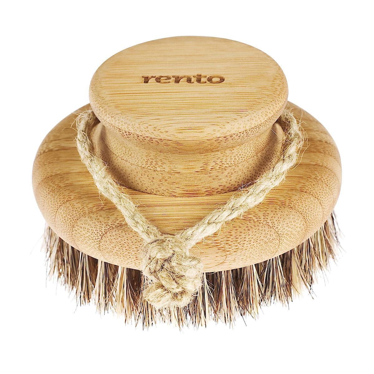 Rento kroppsbørste bambus