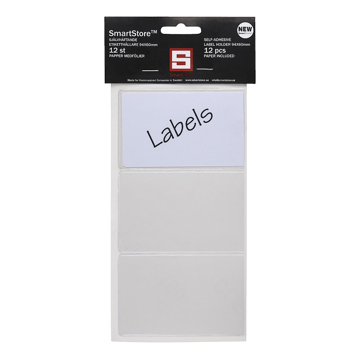 Etiketthållare
