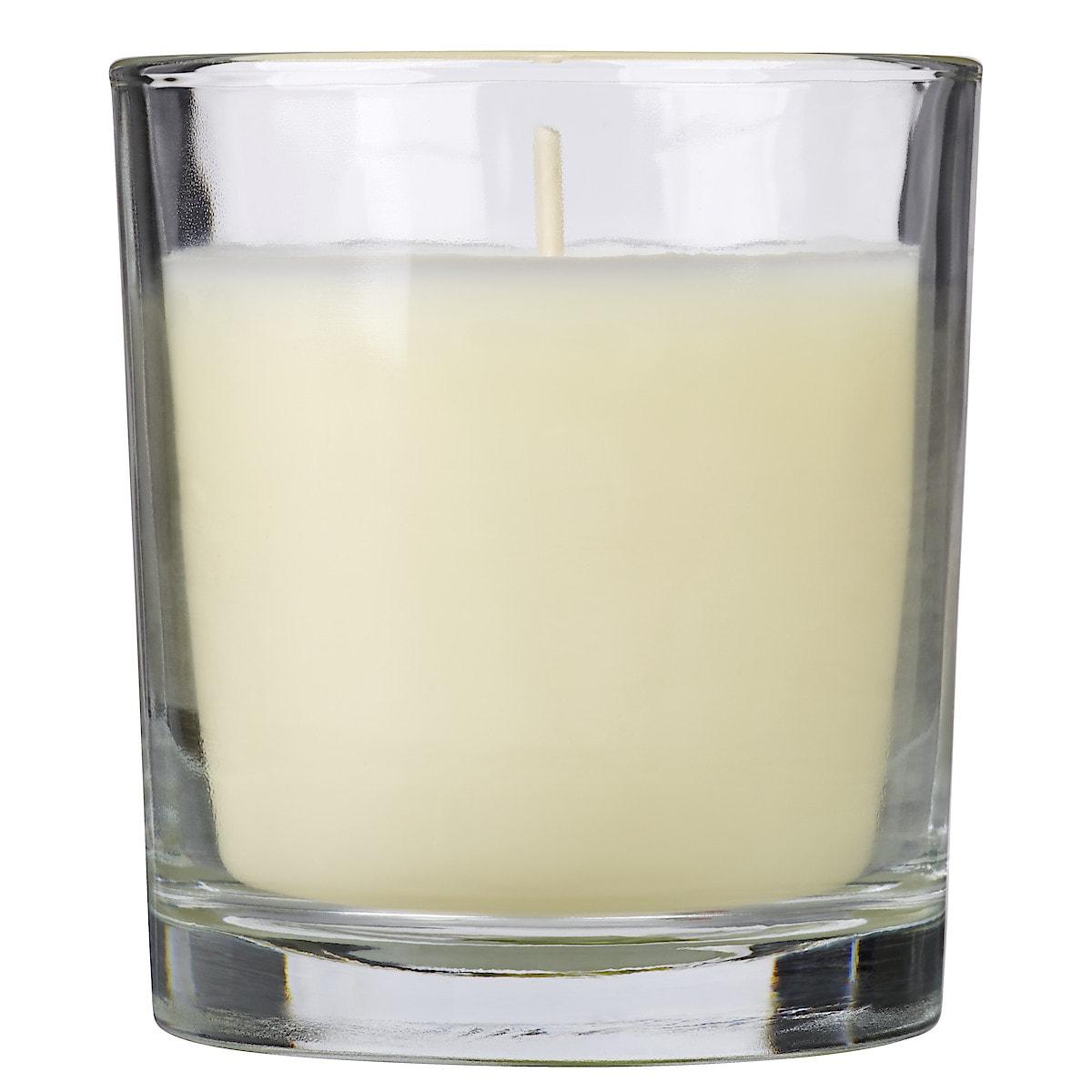 Duftlys i glass