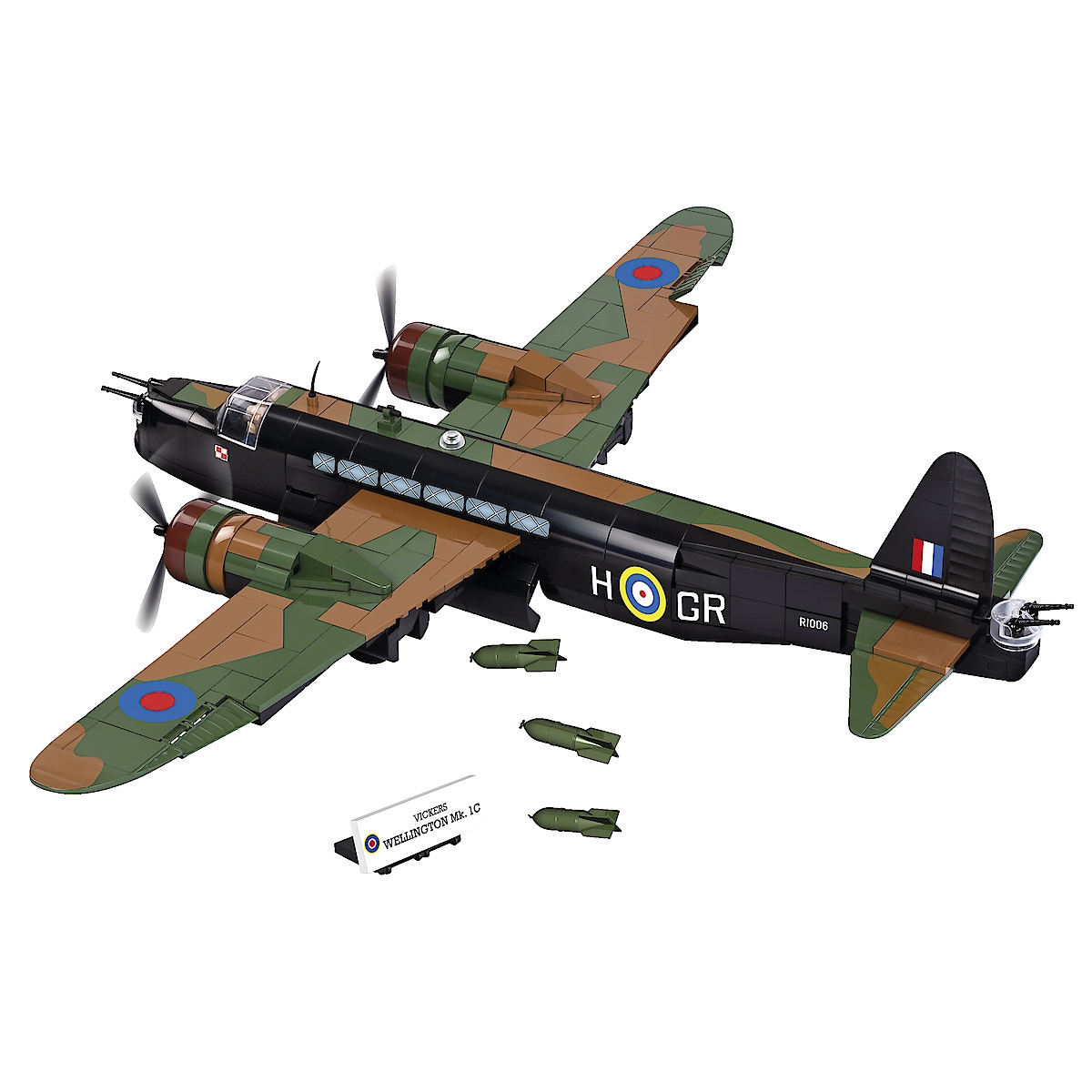 Bausteine Cobi, Vickers Wellington Mk.1C