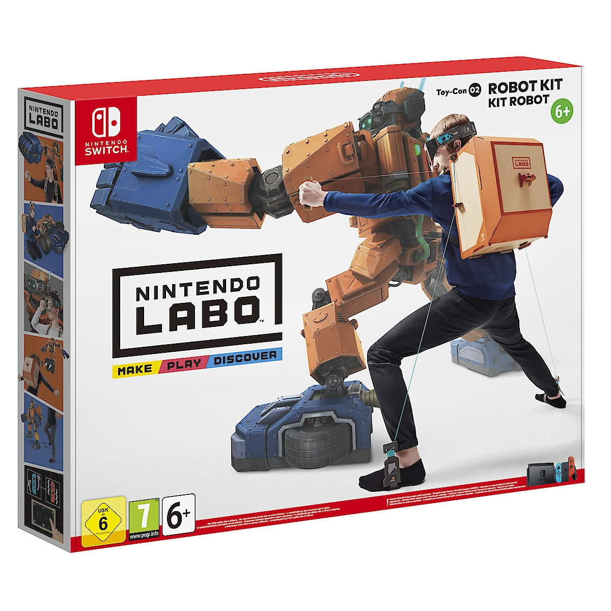 Toy-Con 02: Robot Kit Nintendo Labo spel till Nintendo Switch