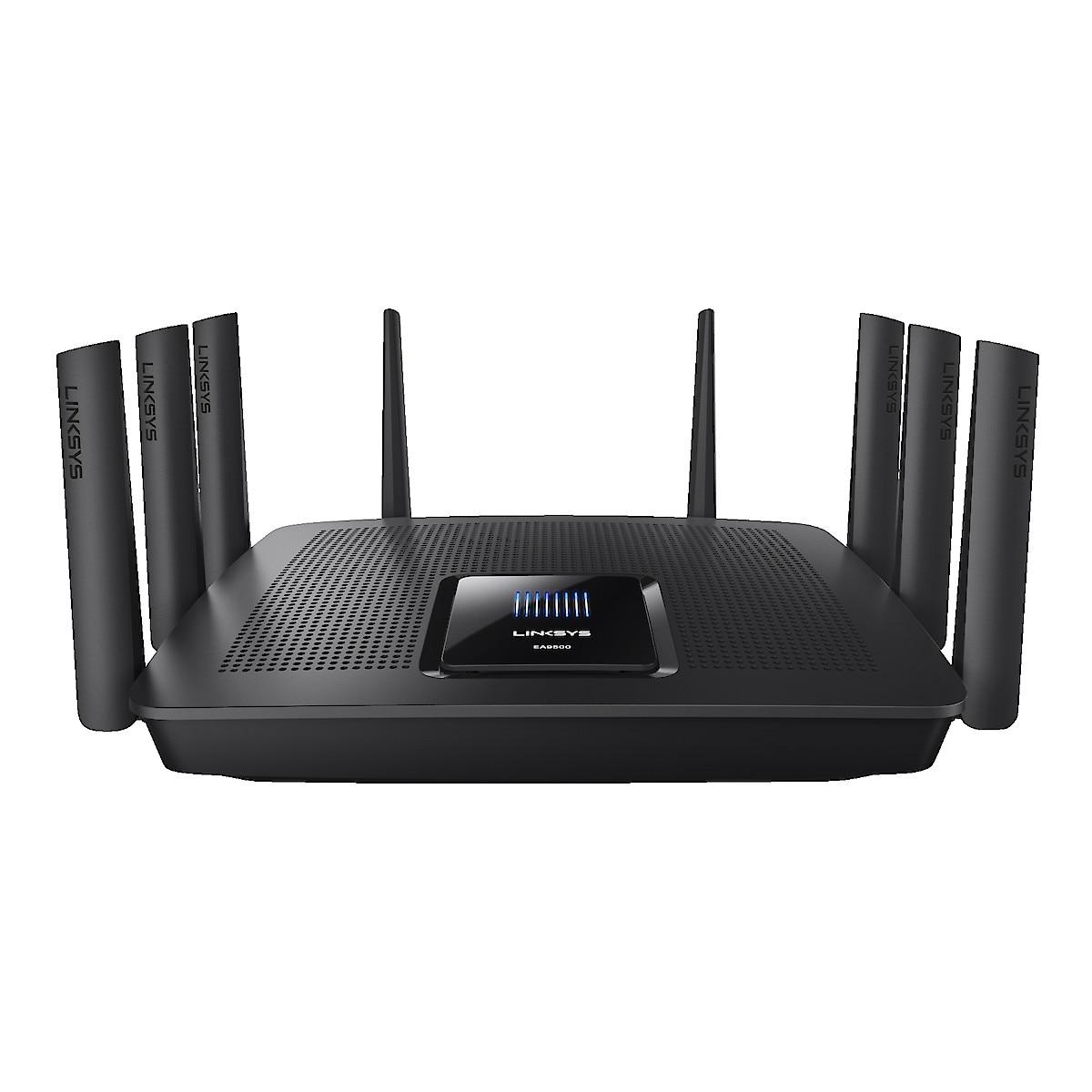 Trådlös router AC, Linksys AC5400