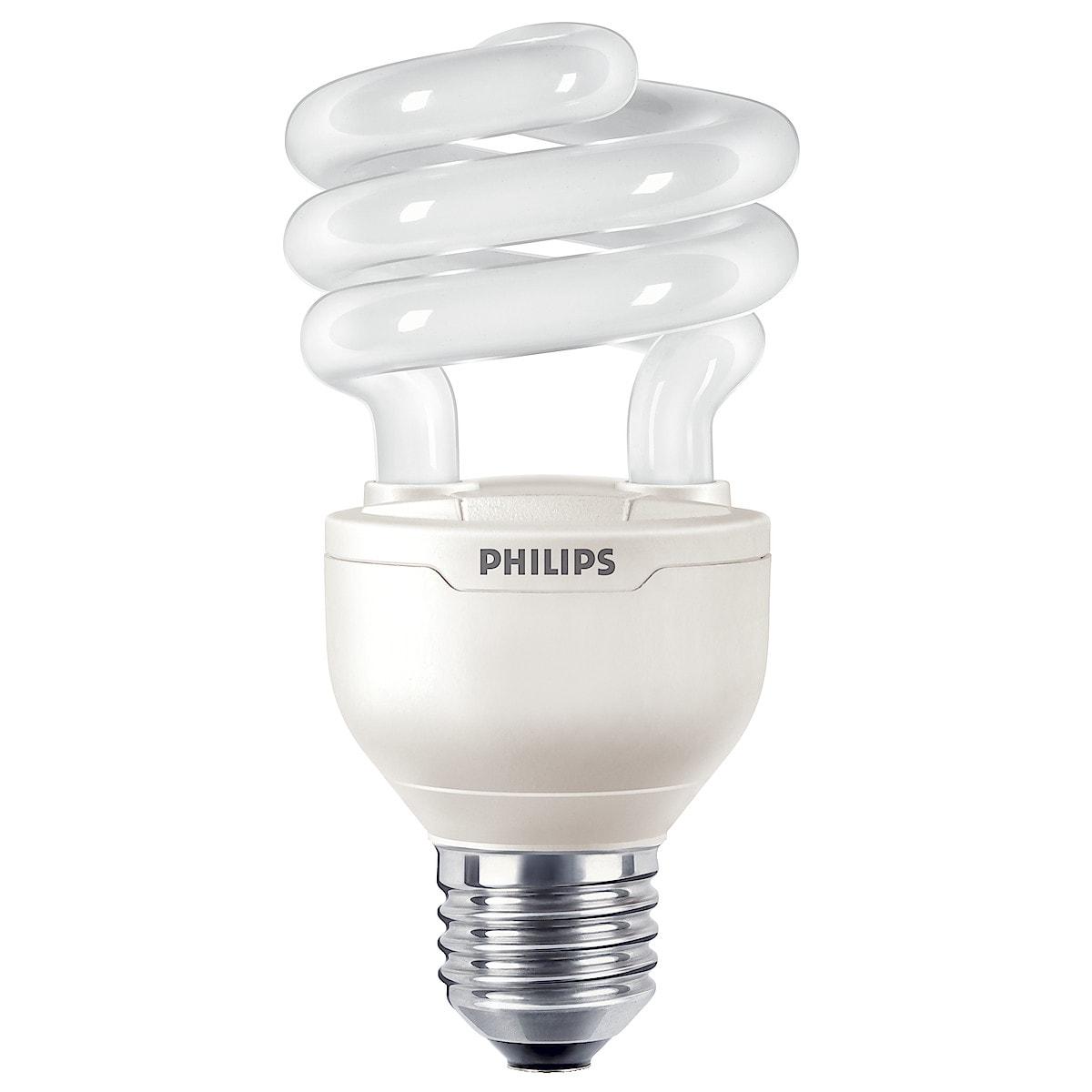 Energiansäästölamppu Philips Tornado