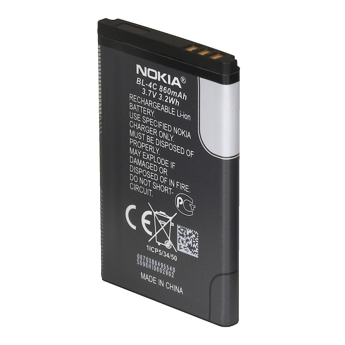 Mobiltelefonbatteri Nokia BL-4C