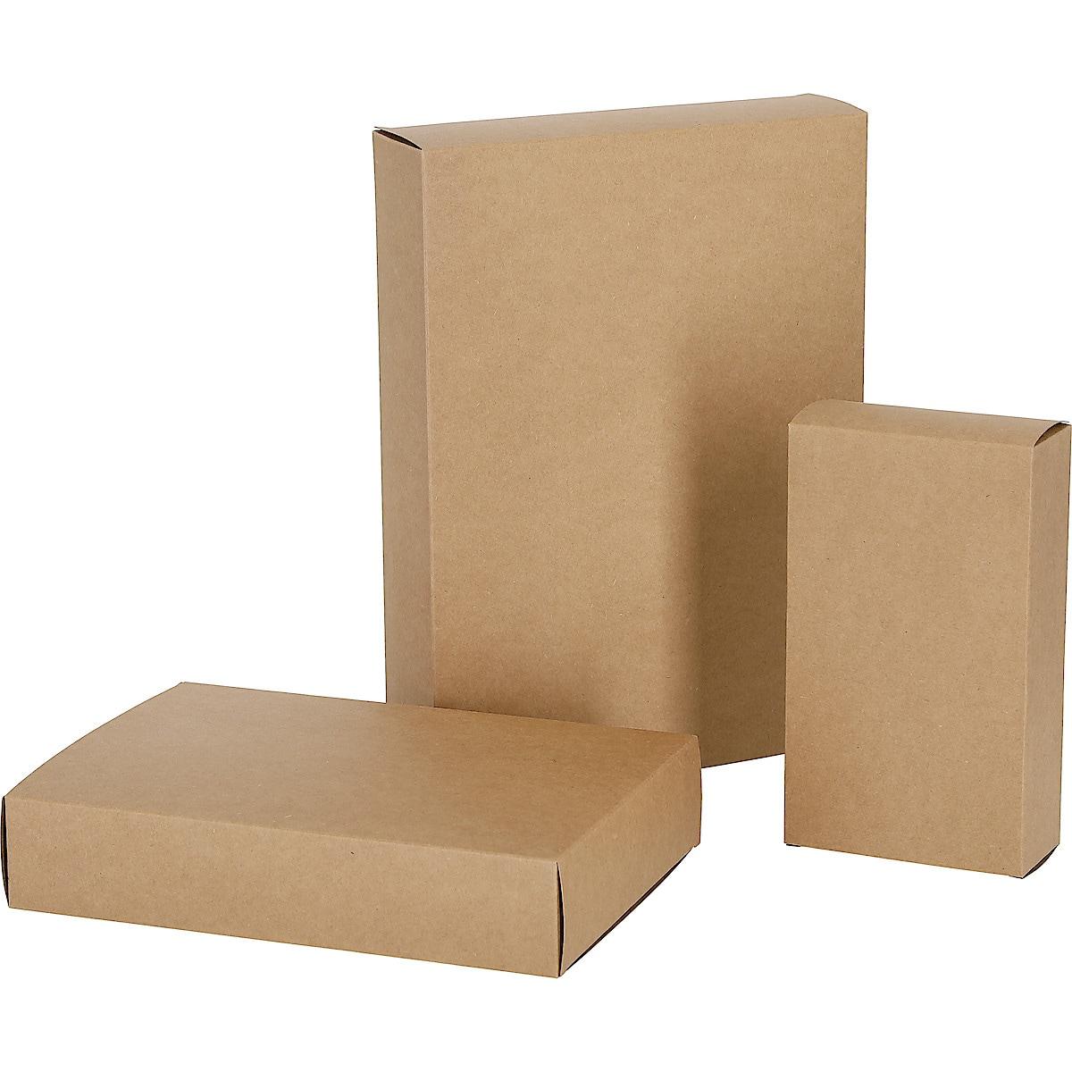 Lahjalaatikko 3 kpl ruskea