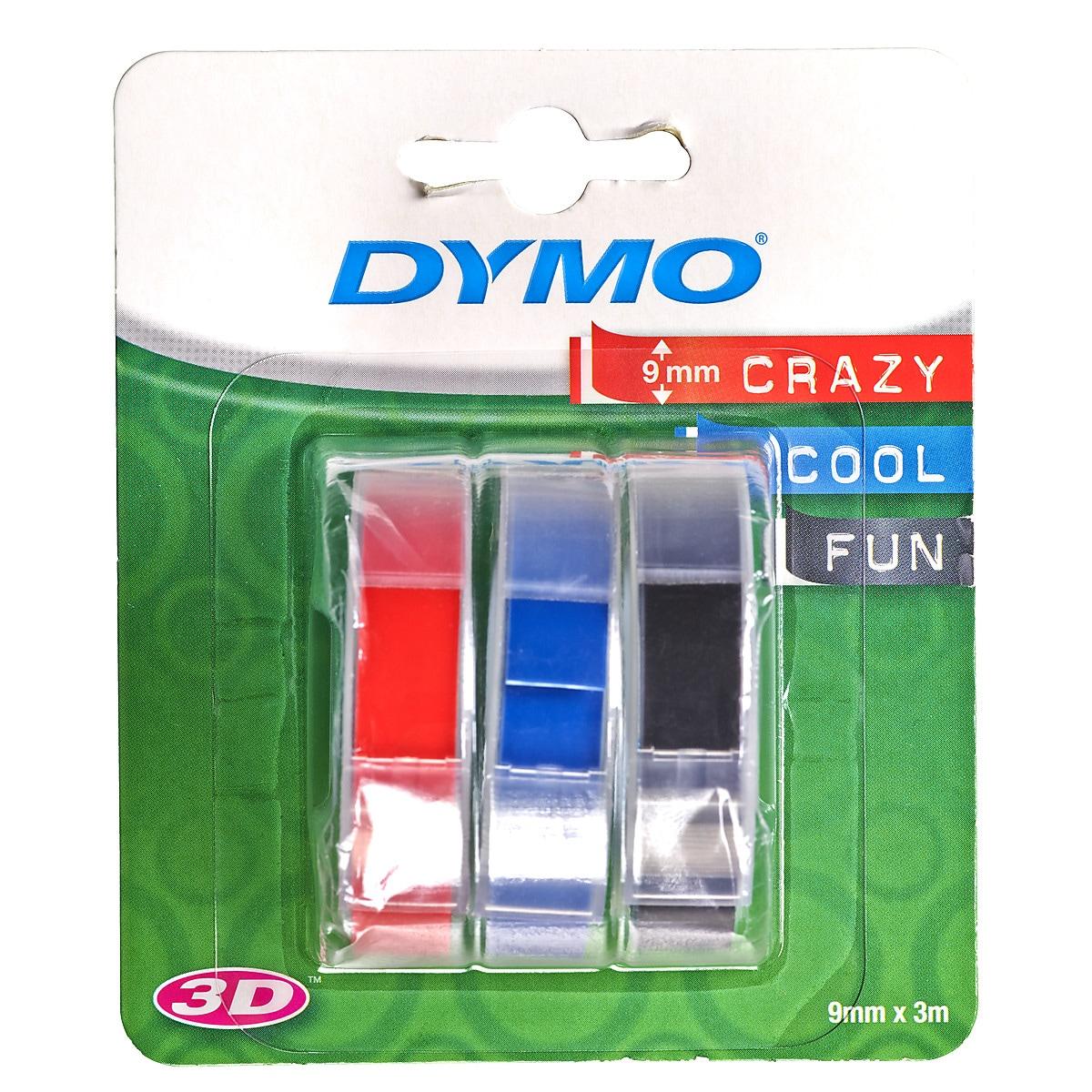Tarranauha Dymo 3D 3 kpl