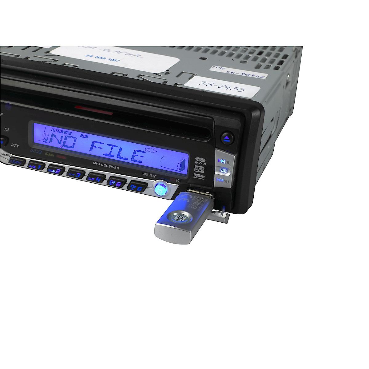 Bilstereo med CD/MP3-spiller