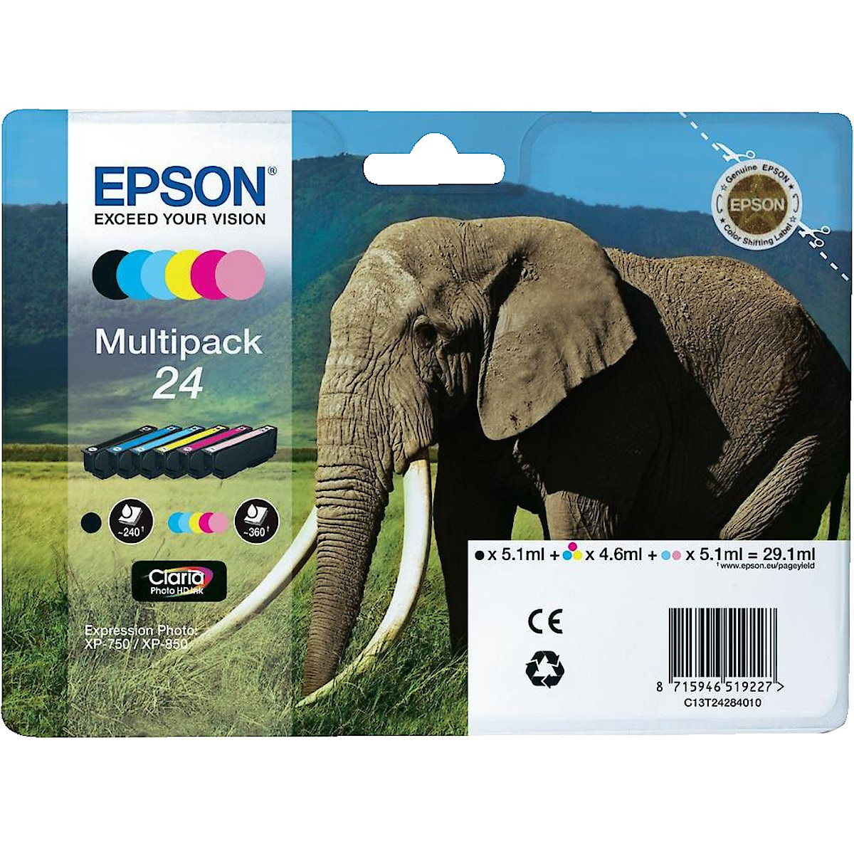 Epson 24 Ink Cartridge
