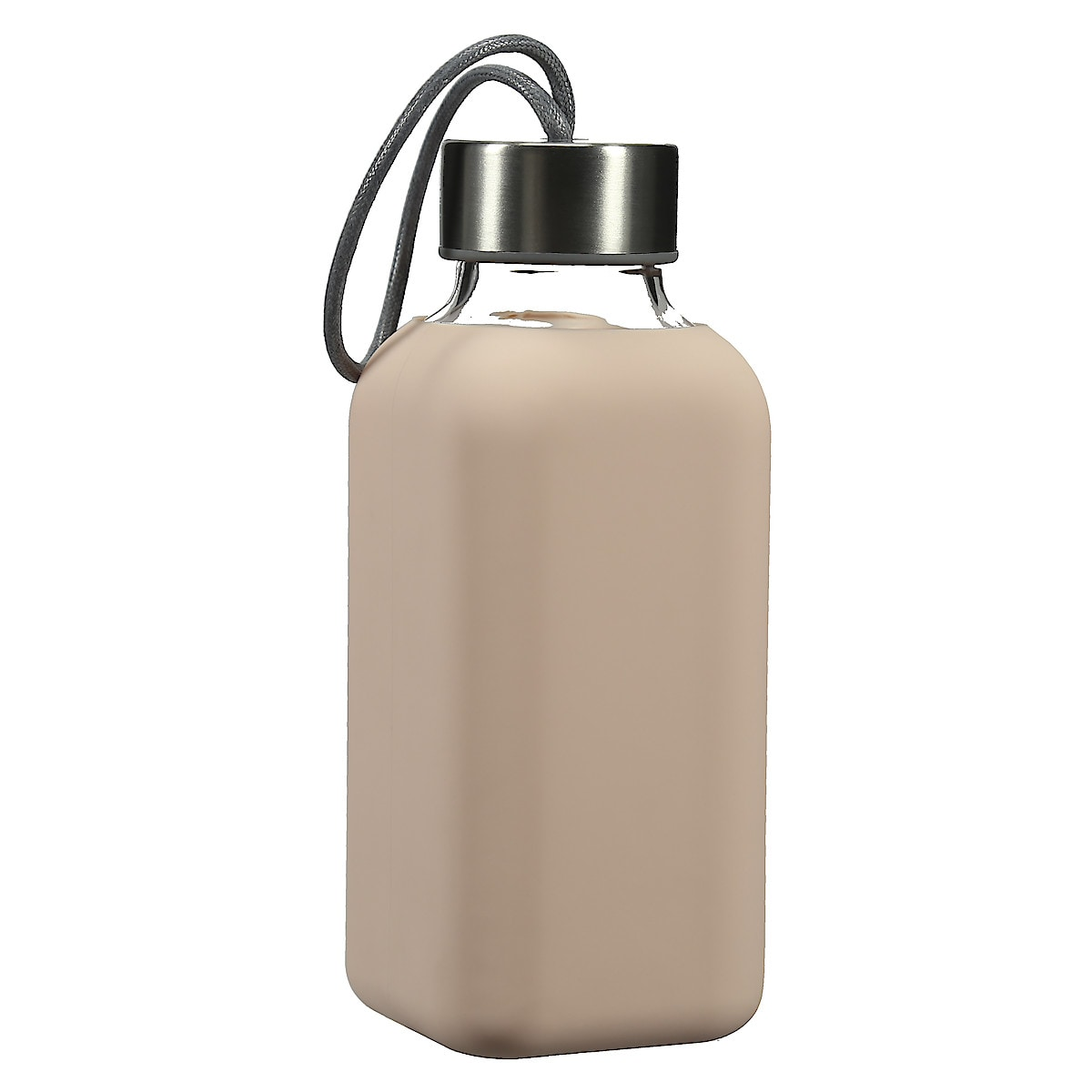 Vattenflaska med silikon, To go