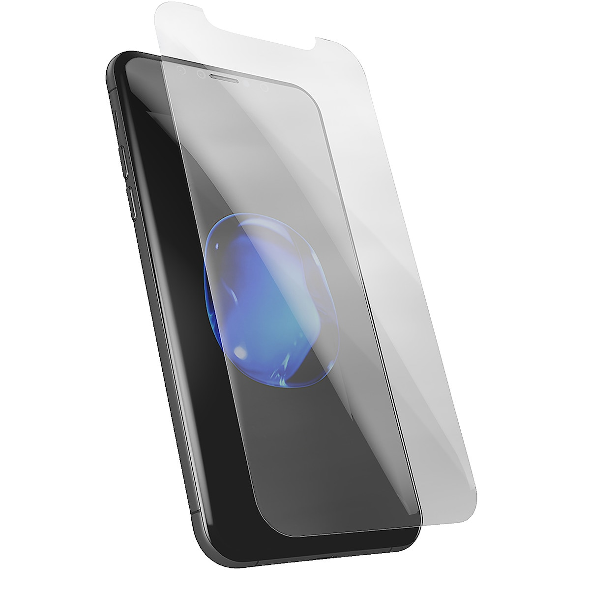 Displayschutz iPhone X/XS, Holdit Tempered Glass