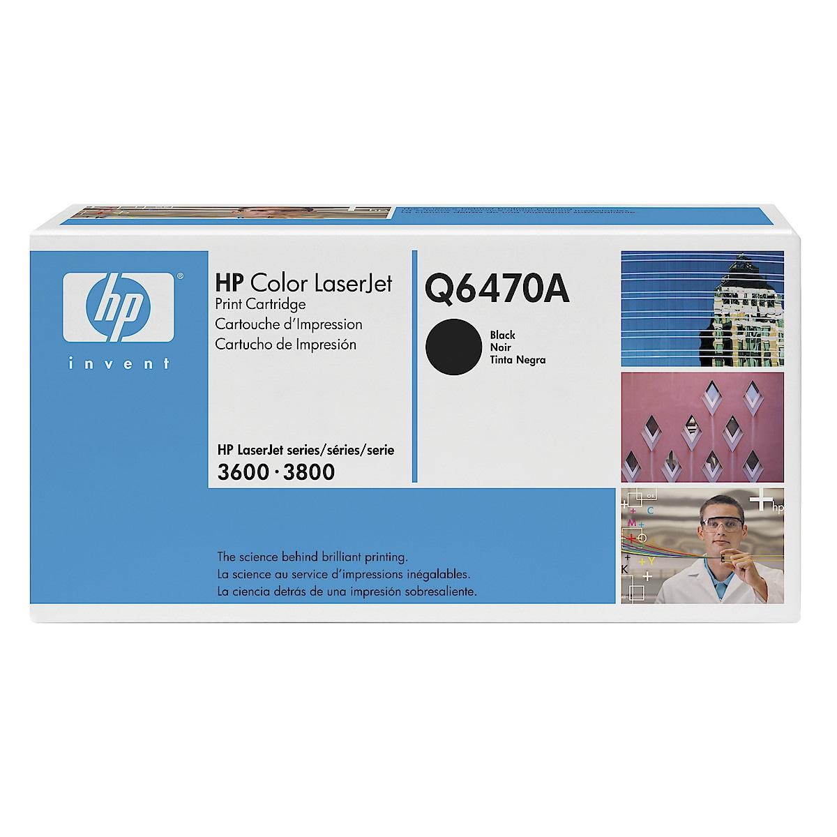 Toner för laserskrivare HP Q6470A