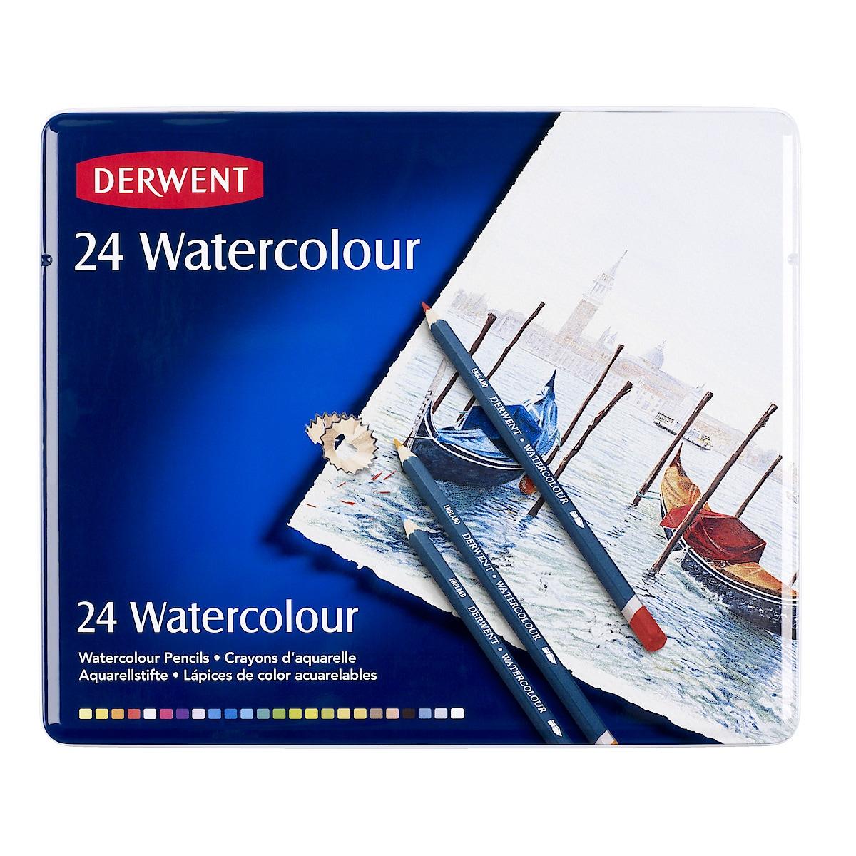 Derwent Watercolour, akvarellblyanter