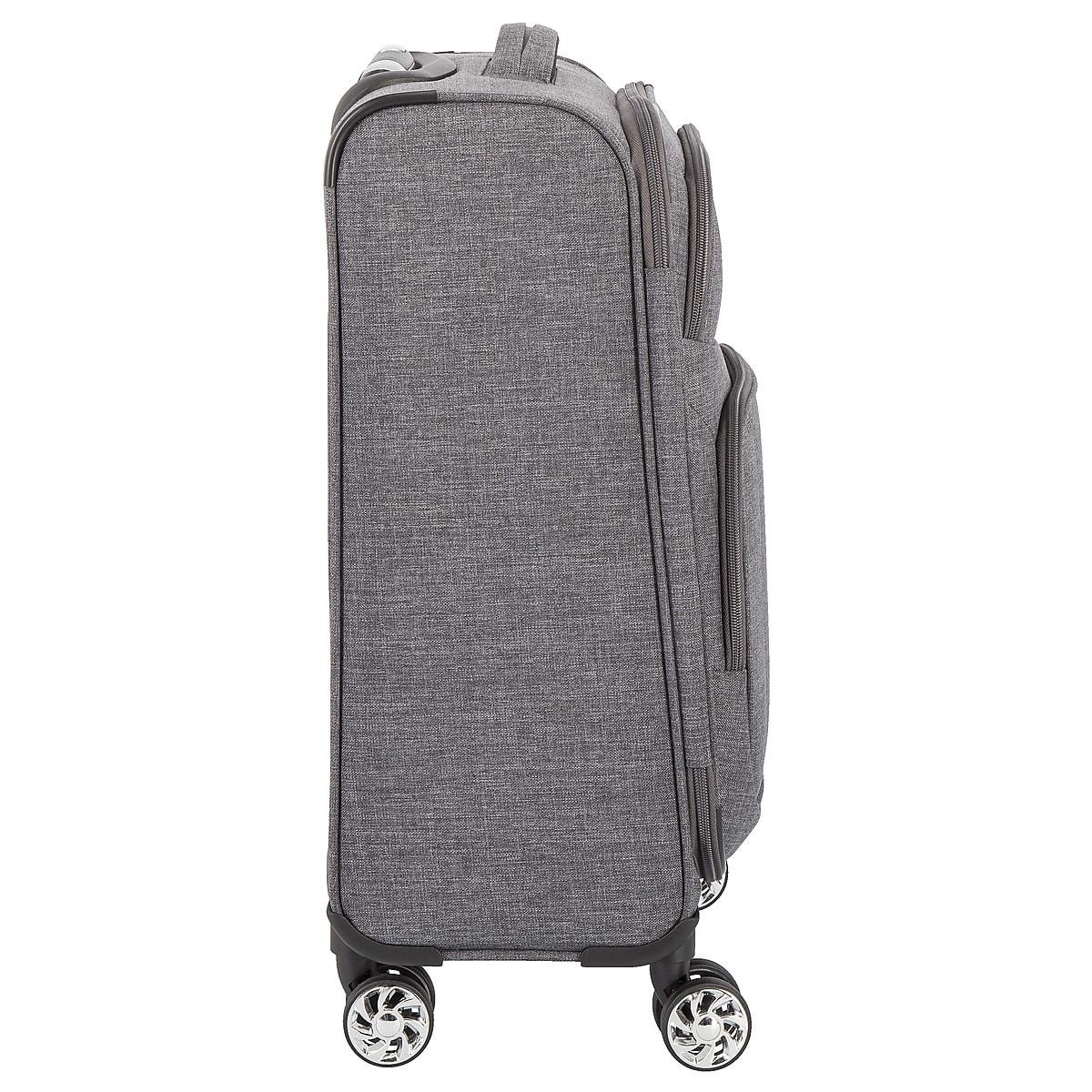 Resväskor 2-pack Asaklitt, grå