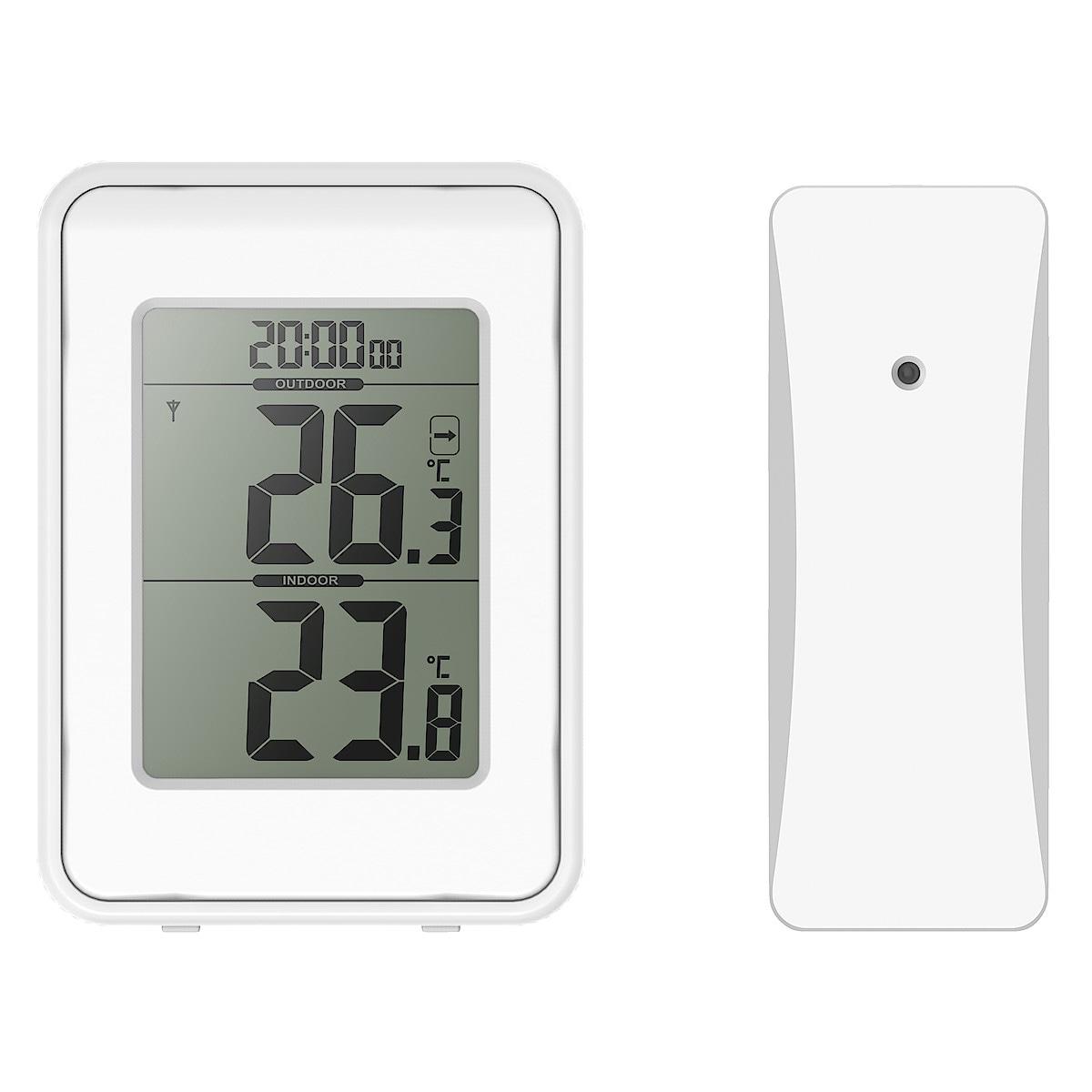 Trådlös termometer uteinne | Clas Ohlson