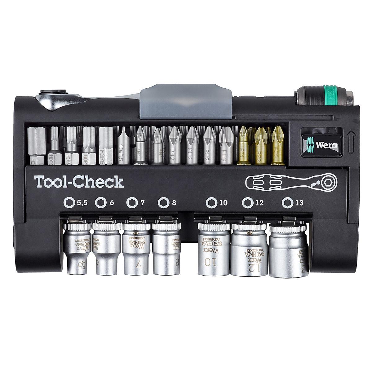 Steckschlüsselsatz Wera Tool-Check