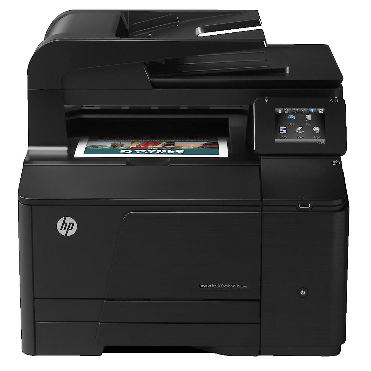 LaserJet Pro HP 200Color MFP M276nw Laser Printer