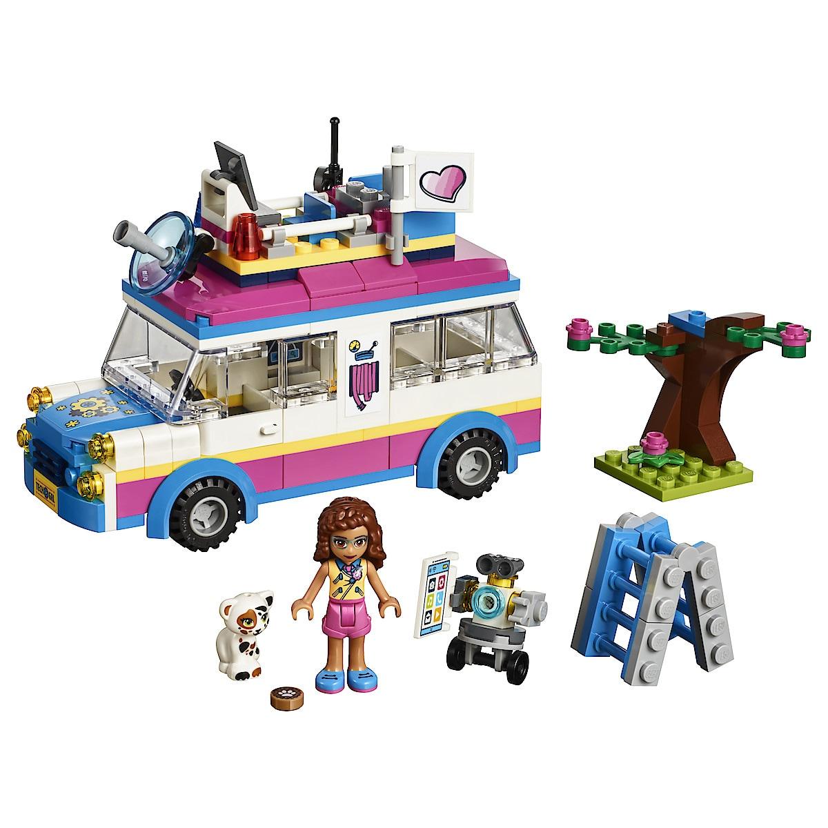 LEGO Friends 41333, Olivias uppdragsfordon