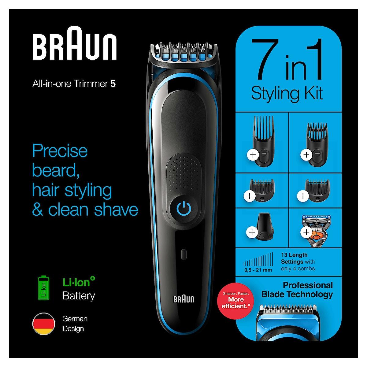 Braun 7 in 1 MGK5245 All-in-one, Multitrimmeri