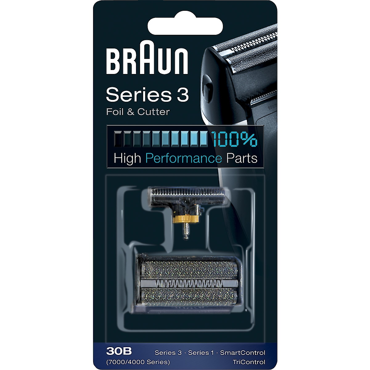 Replacement Foil and Cutter for Braun 30B Shavers