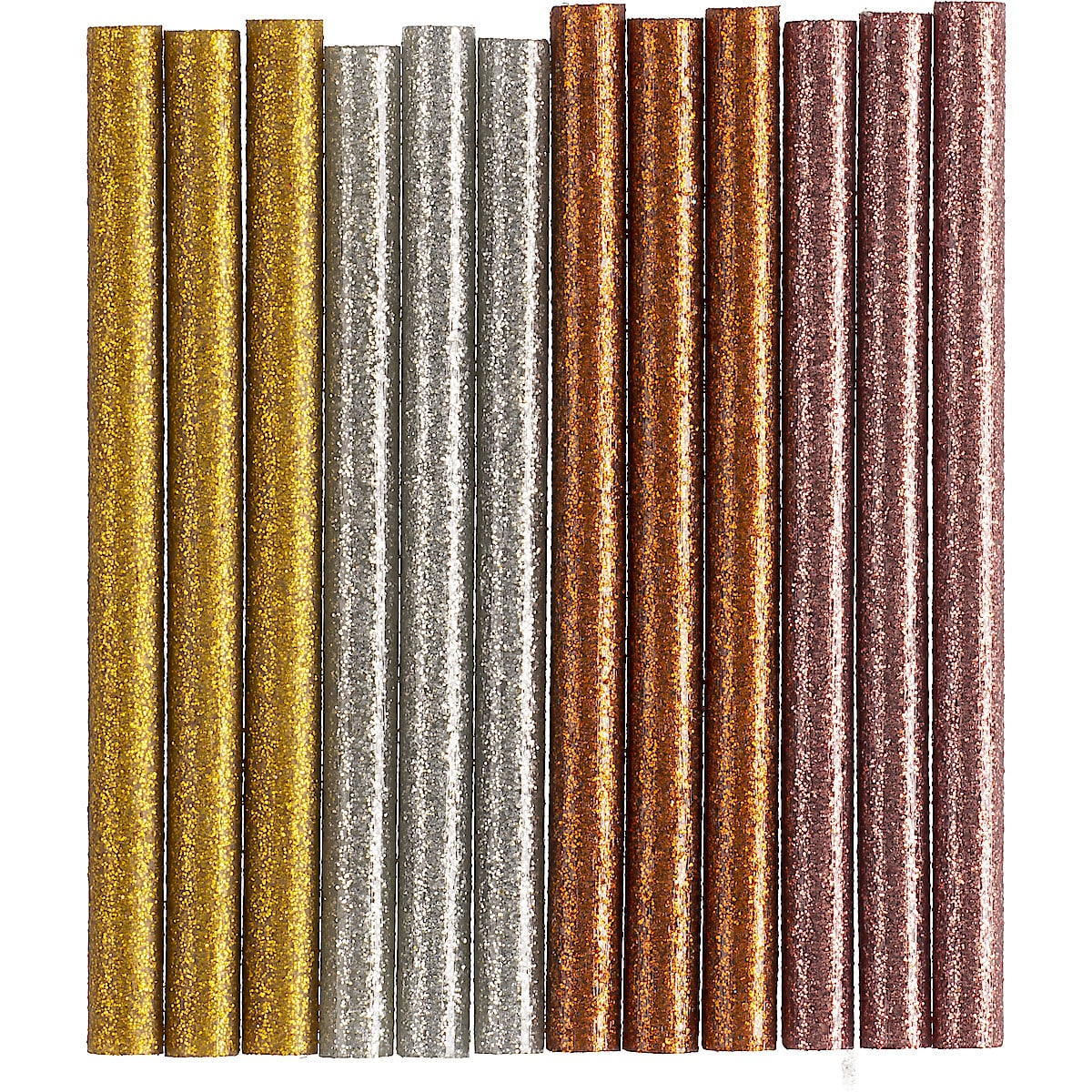 Glitter Glue Sticks, 7 x 100 mm