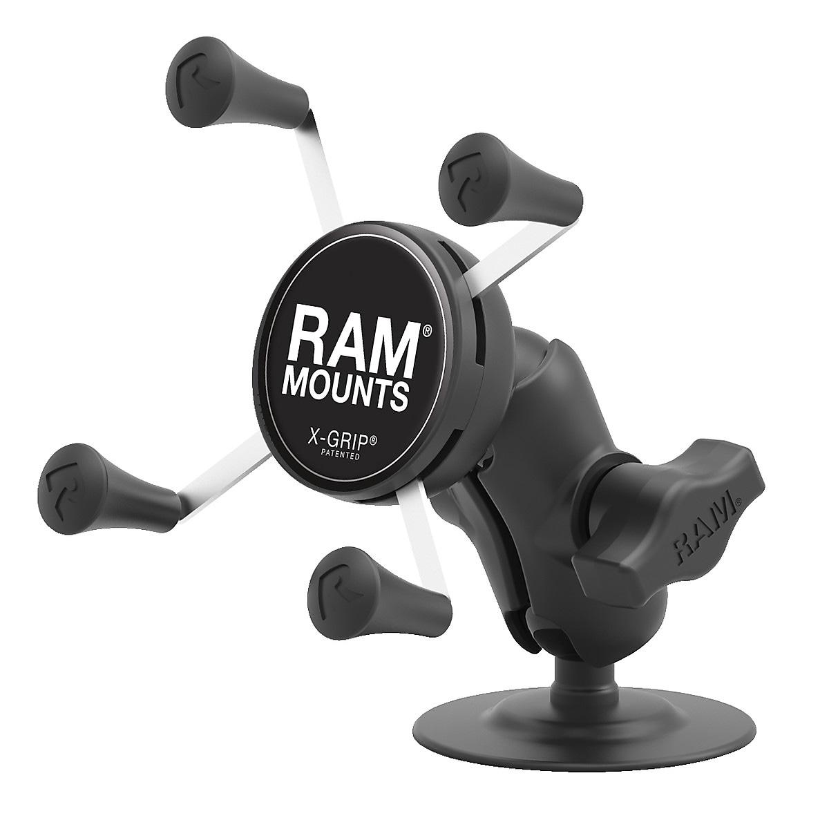 Multihållare med fästplatta för smartphone Ram