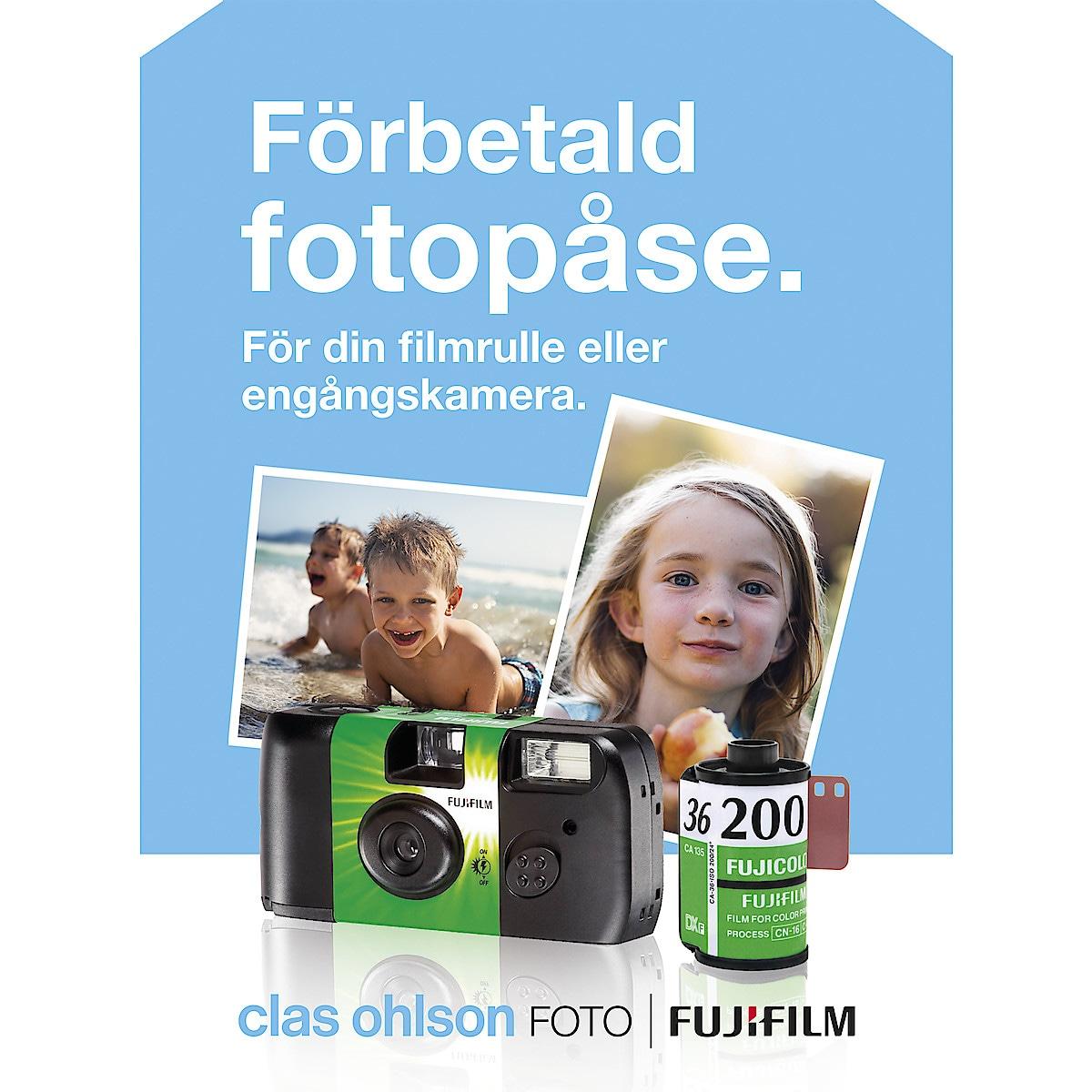 Förbetald fotopåse 36 bilder Fujifilm