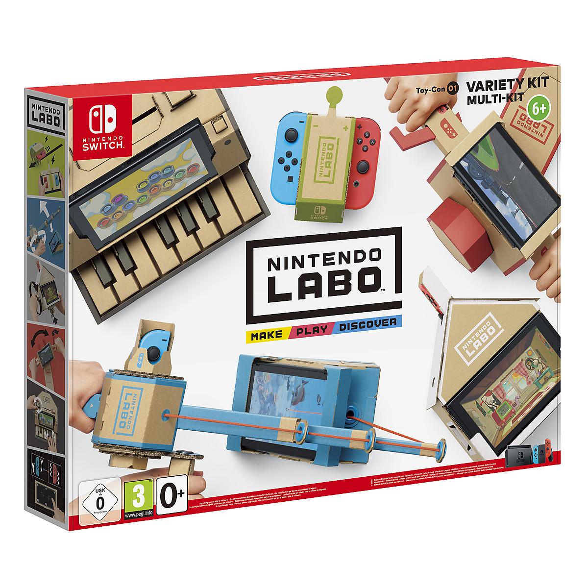Toy-Con 01: Variety Kit Nintendo Labo spel till Nintendo Switch