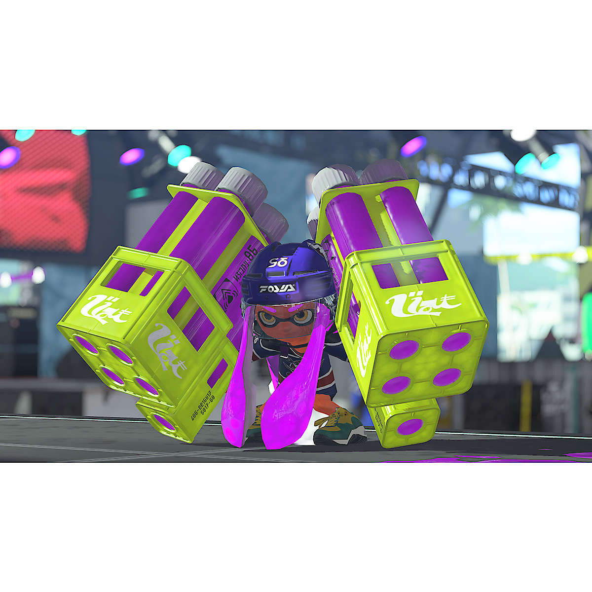 Splatoon 2, Nintendo Switch -peli