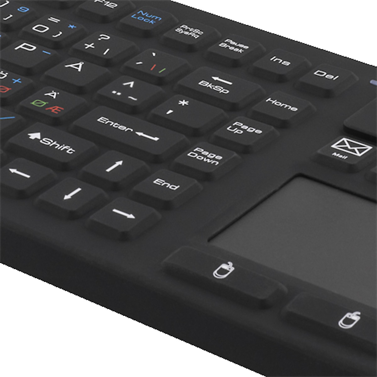 Trådlöst tangentbord med touchplatta Deltaco TB-503