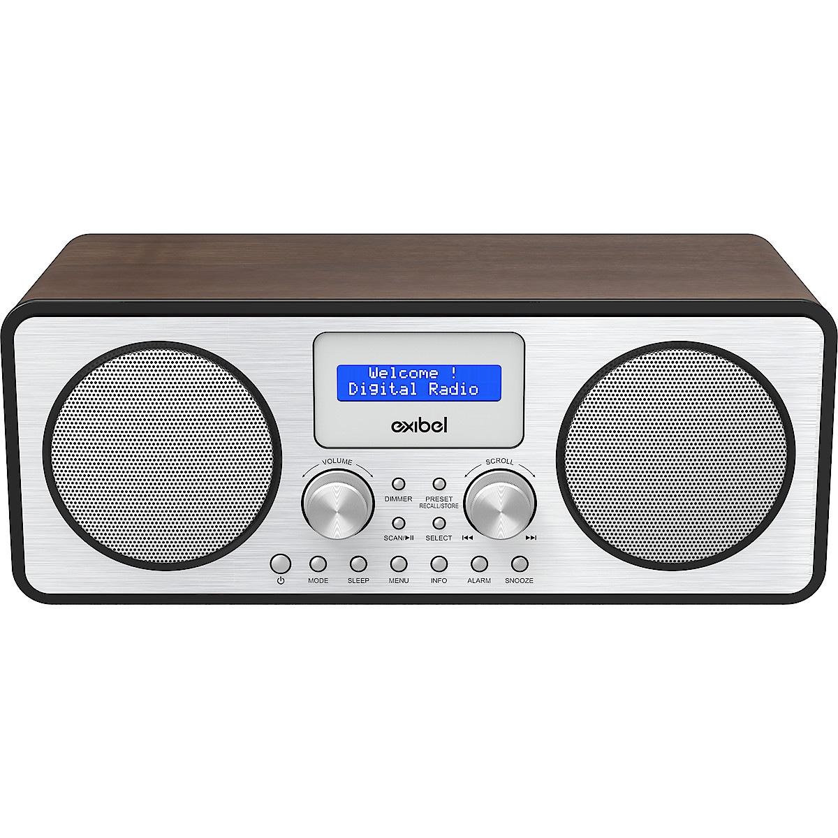 Exibel X45BT DAB+/FM-radio