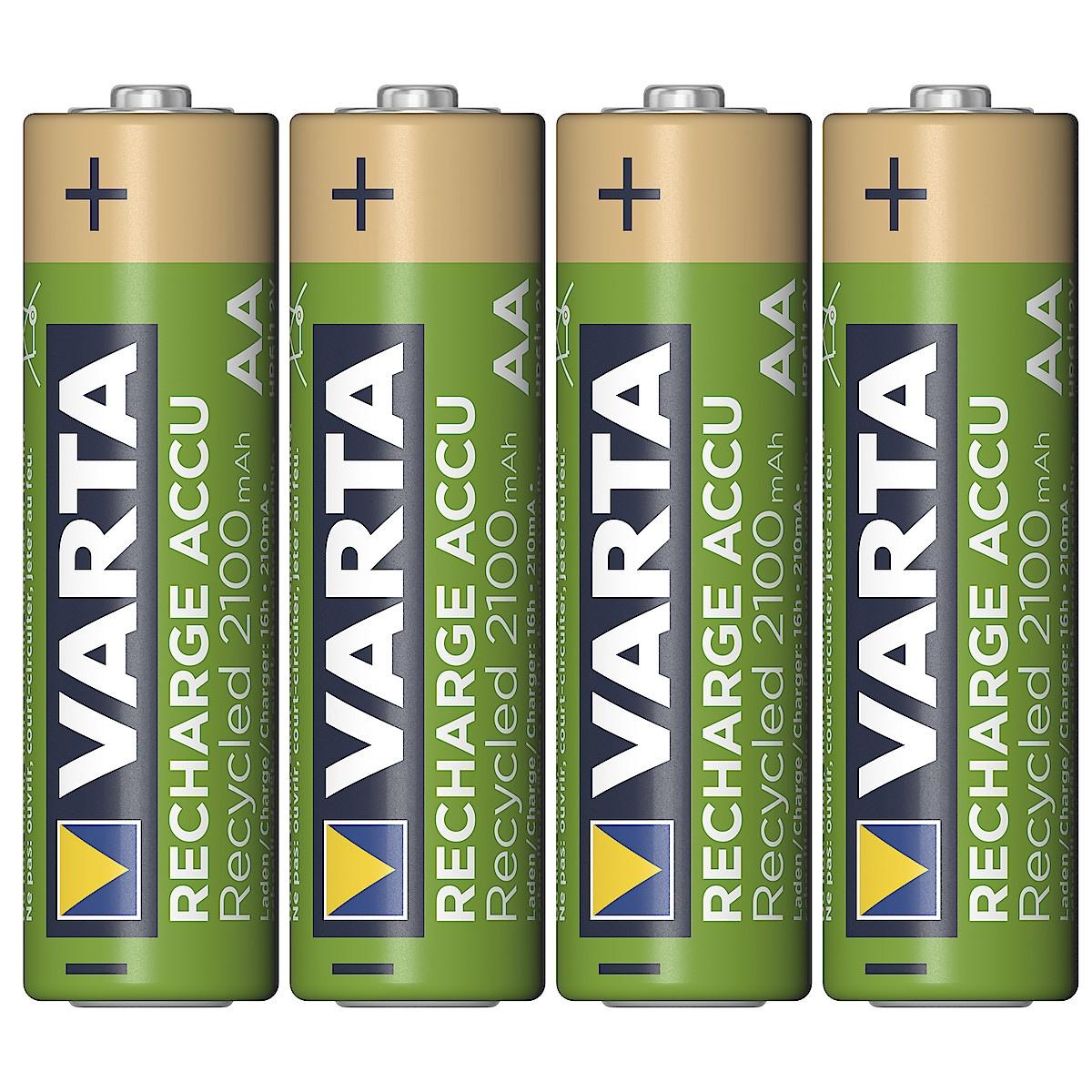 Laddningsbart batteri AA/HR6 VARTA Recycled