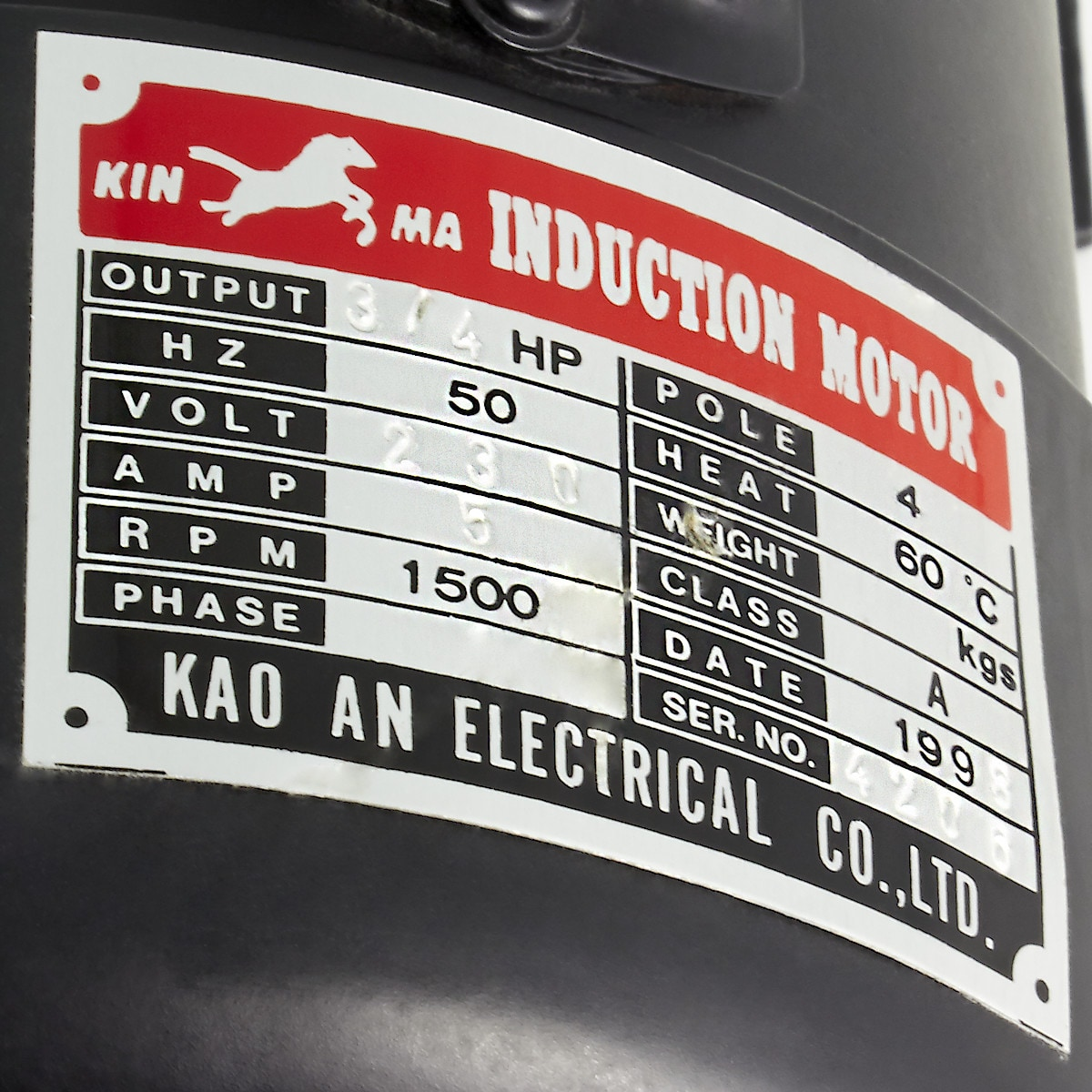 Mottori H-1000 230V
