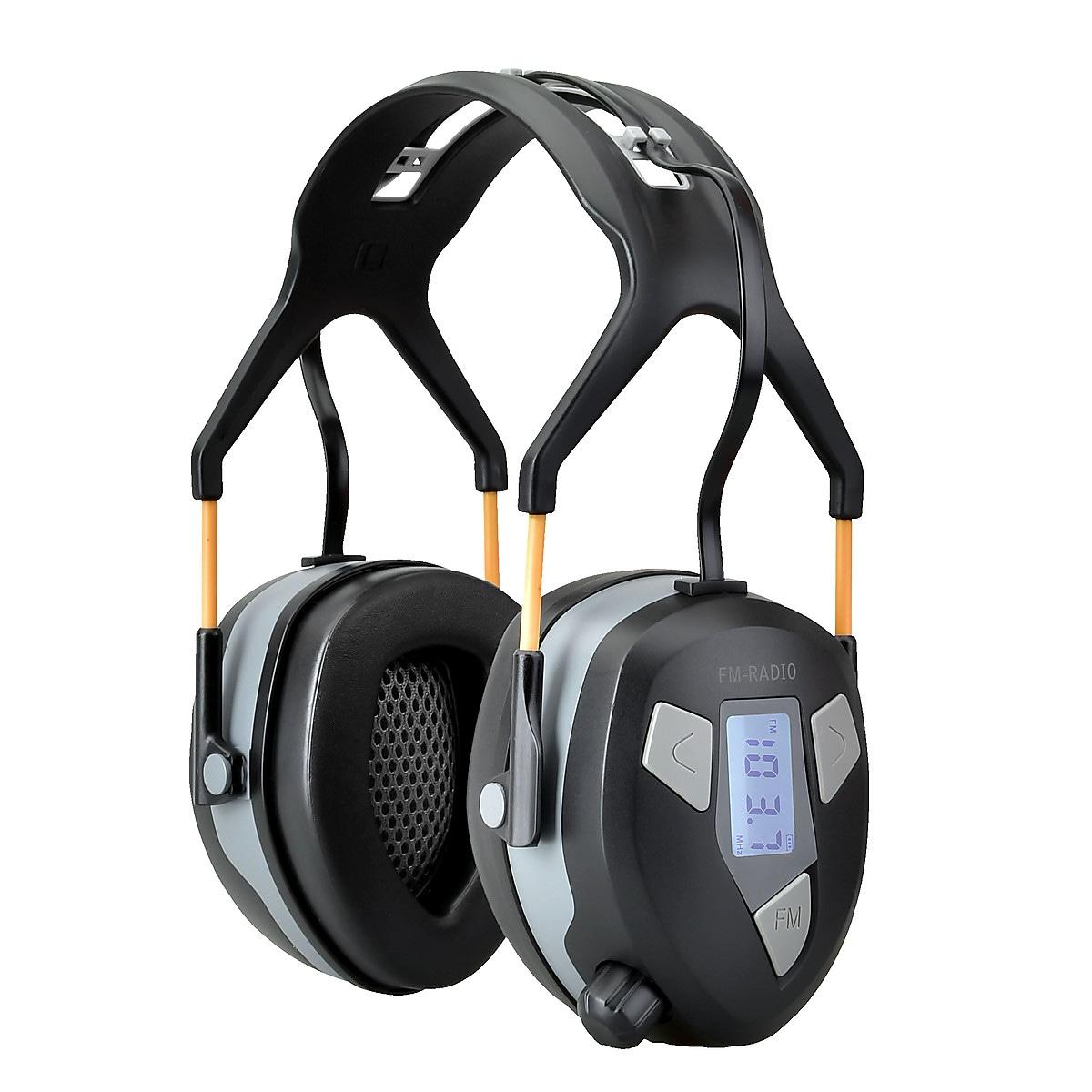 Hörselskydd med FM-radio