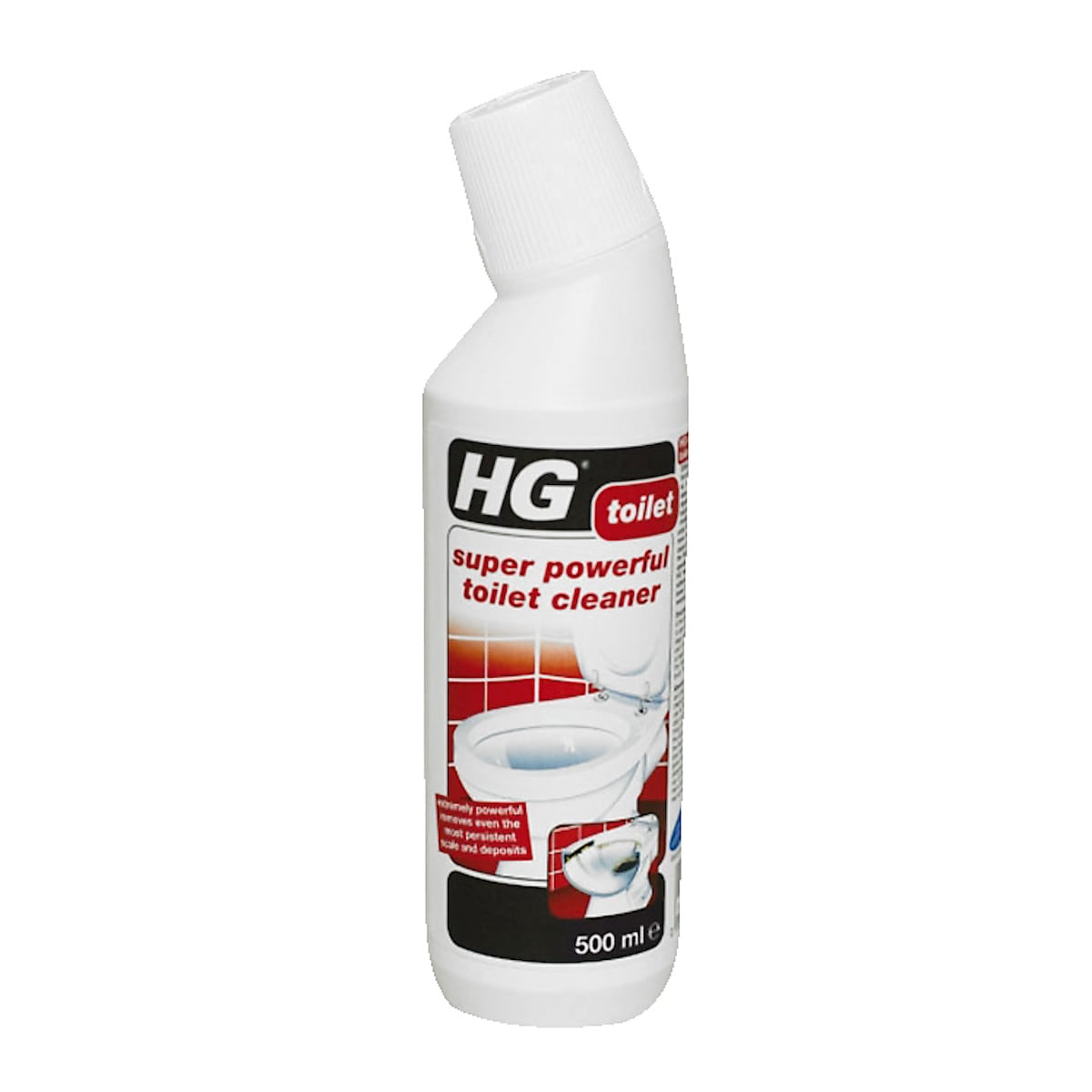 HG powerful toilet cleaner