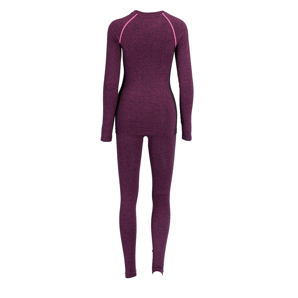 Base Layer Set, Pink Melange
