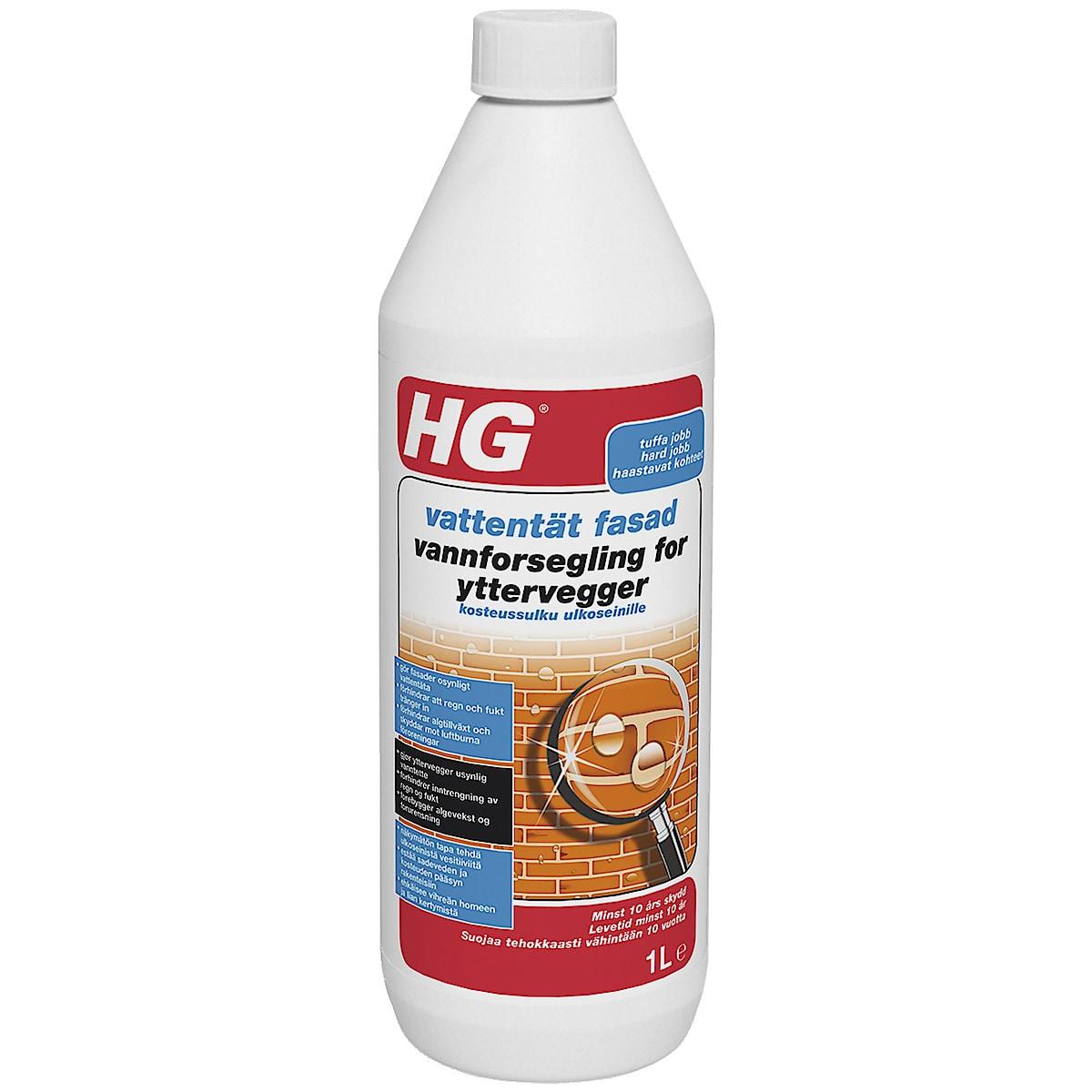 Vattentät fasad HG