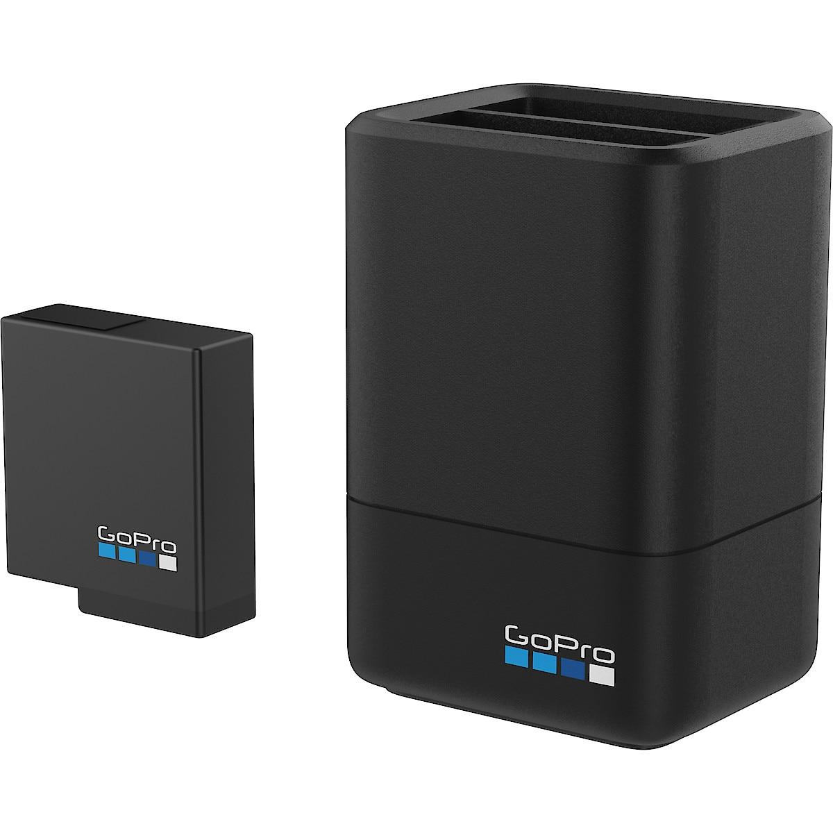 Laddare och extra batteri till GoPro Hero 567 Black, Dual