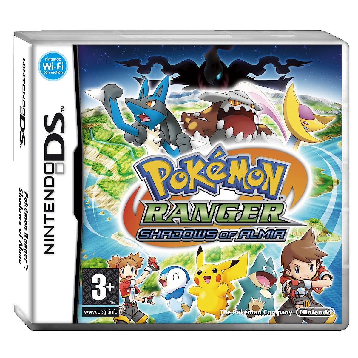 Nintendo DS™ Pókemon™ Ranger, Shadows of Almia